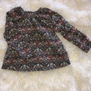Peek Limited Edition Liberty Fabric Shirt Sz s 4/5